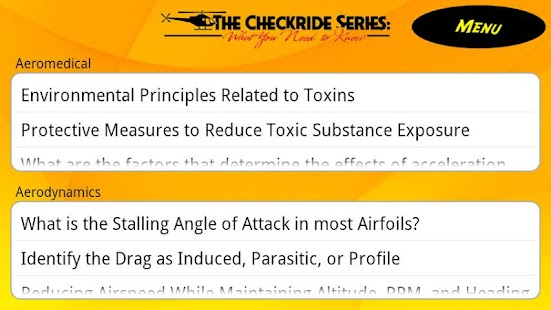 Aeromed Flashcard Study Guide- screenshot thumbnail