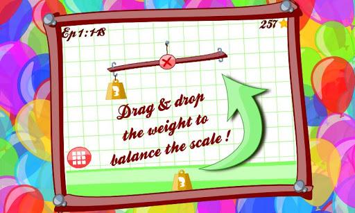 Balance me - math puzzle game