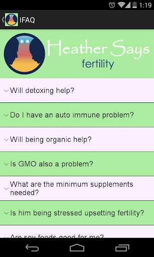 【免費健康App】Heather Says - Fertility-APP點子