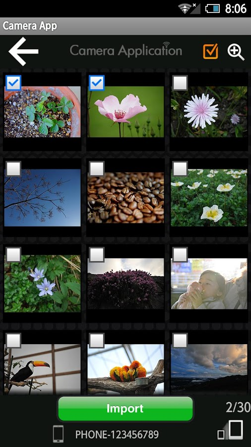 FUJIFILM Camera Application - screenshot