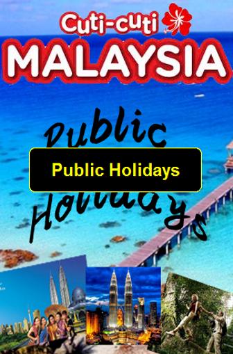 Public Holidays 2015 Malaysia