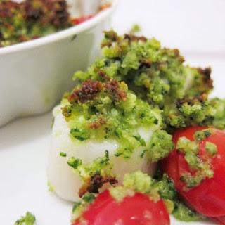 Broiled Scallops Provençale