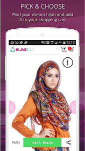 Hijab Fashion Photo Shopping screenshot 5