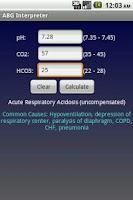 Screenshot of NurseCalcs Demo