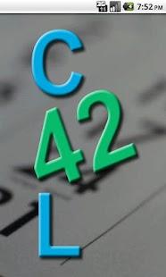 Cal42 screenshot