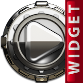 Poweramp Widget Silver Admiral