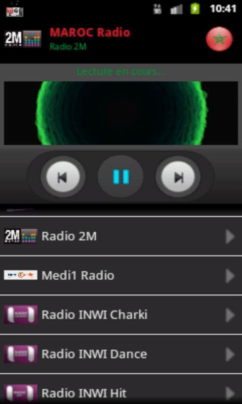 RADIO MAROC - screenshot