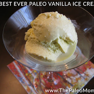 "The Best Ever Paleo Vanilla Ice ""Cream"""