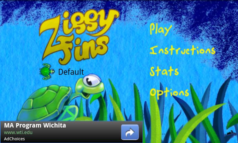 Ziggy Fins Lite- screenshot
