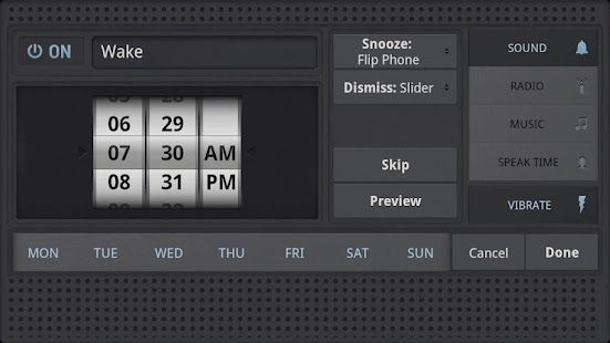 Rise Up! Radio/Alarm Clock - screenshot thumbnail