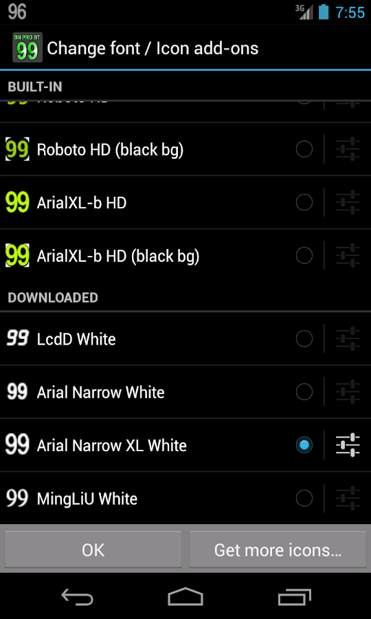 BN Pro White Text- screenshot