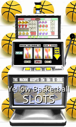 3D Yellow Basketball Slots