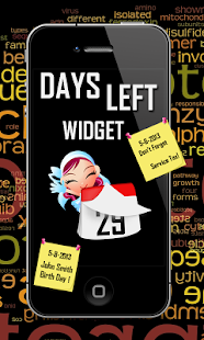 Days Left Widget - screenshot thumbnail