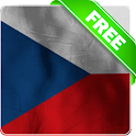 Czech republic flag lwp Free icon