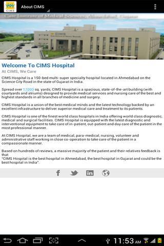 Neurosciences - CIMS Hospital