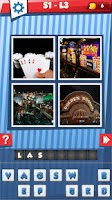 Screenshot of US States Cities 4 Pics 1 Word