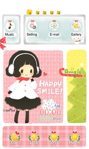 CUKI Themes Happy Cute Girl
