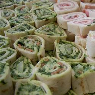 Spinach Roll-Ups.