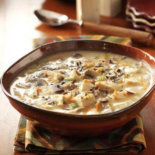 Chicken Wild Rice Soup.