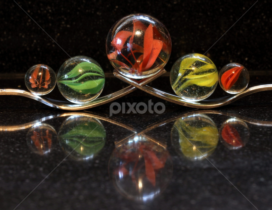 On reflection by Garry Chisholm - Artistic Objects Other Objects ( garry chisholm, reflection, art, marbles, glass )