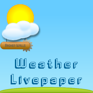 Weather Livepaper Lite