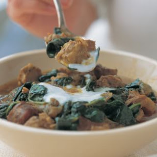 Indian Lamb & Spinach Curry Recipe