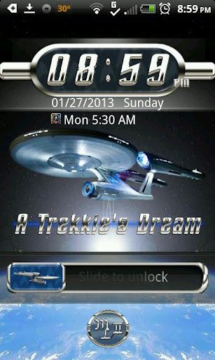 STAR TREKKIE Phone Locker