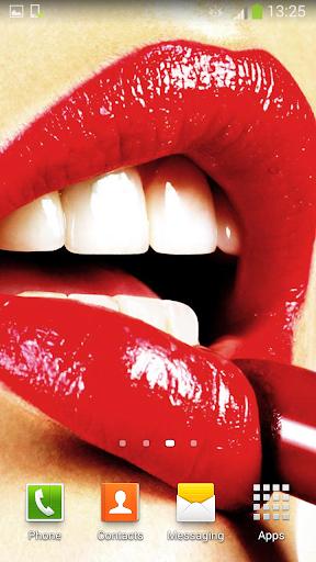 無料个人化Appの唇 ライブ壁紙|記事Game