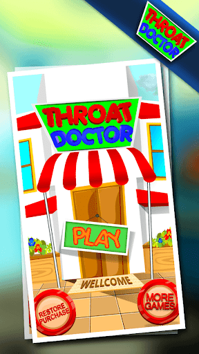 Kids Throat Doctor - Fun Game