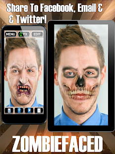ZombieFaced Pro Zombie Booth- screenshot thumbnail