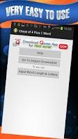Screenshot of Cheat 4 Pics 1 Word Unlimited