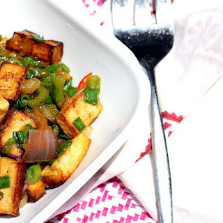 Asian Chili Tofu