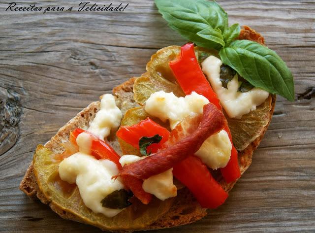Cured Cheese and Ham Bruschetta Recipe