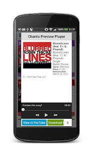 Chartix: Android Music Charts - screenshot thumbnail