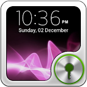 GO Locker Xperia Pink Theme