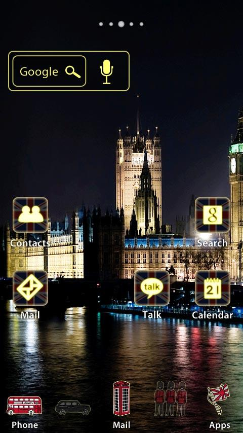 [AL] London -Lite- Theme - screenshot