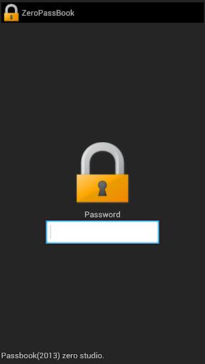 zero PassBook パスワードマネージャ