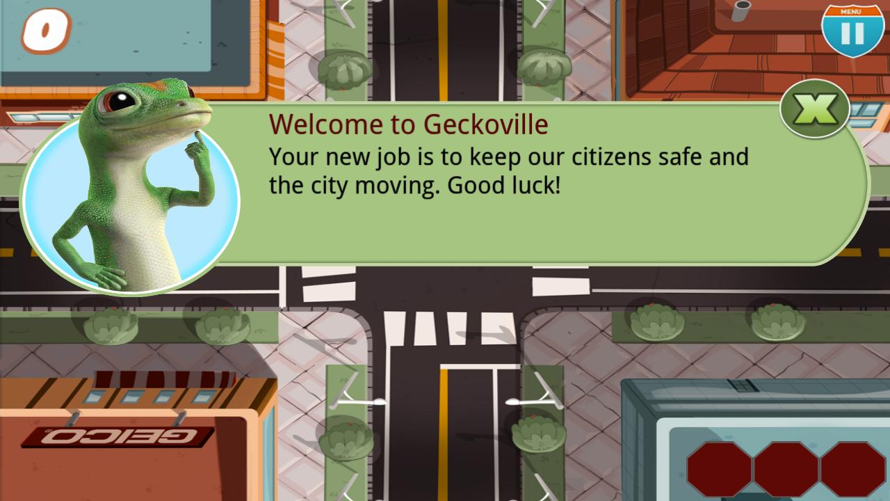 GEICO Tricky Traffic - screenshot