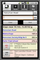 Screenshot of SmartShehar Mumbai Bus (Older)