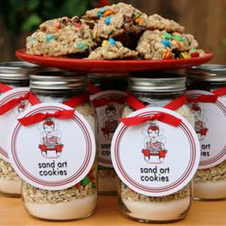 Sand Art Cookies