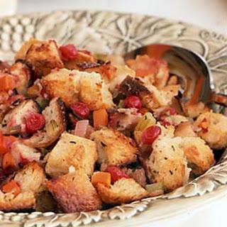 Sourdough-Cranberry Stuffing.