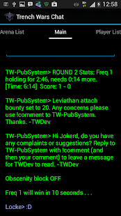 SSCU Trench Wars Chat- screenshot thumbnail