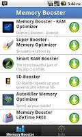 Screenshot of Top Memory Boosters