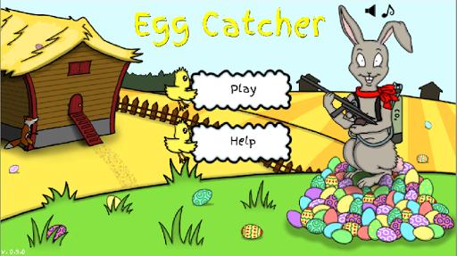 Egg Catcher: Funny bunny