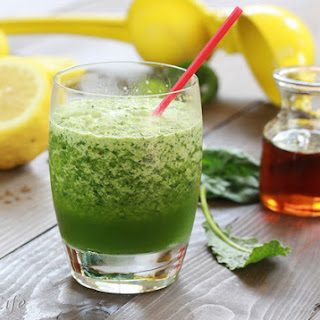 Lemon and Kale Ice