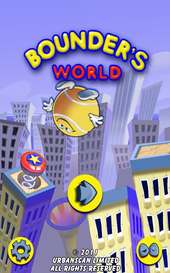 Bounder's World- screenshot