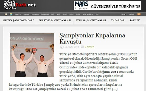 RalliTürk - screenshot thumbnail