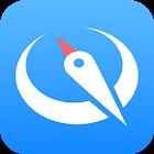 腾讯地图(首款零流量模式地图)-map  gps qq 微信 icon