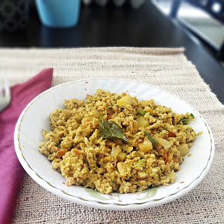 Egg Bhurji Recipe (Anda Burji Recipe) – Indian scrambled eggs.