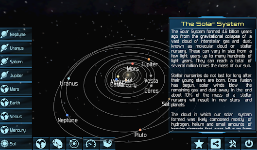 Solar System Explorer HD - screenshot thumbnail